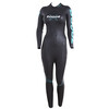 Zoggs FX3 Wetsuit Women Black/Light Blue